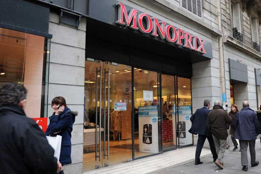 フランスのスーパー「モノプリ」