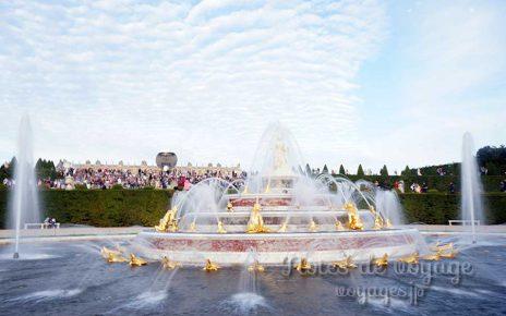 ヴェルサイユ宮殿の噴水ショー